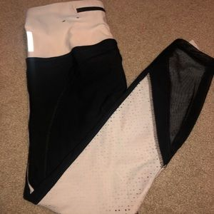 Black/White Workout Leggings